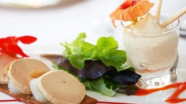 restaurant abbaye de sainte croix salon de provence 13300 avis menu et prix. Black Bedroom Furniture Sets. Home Design Ideas