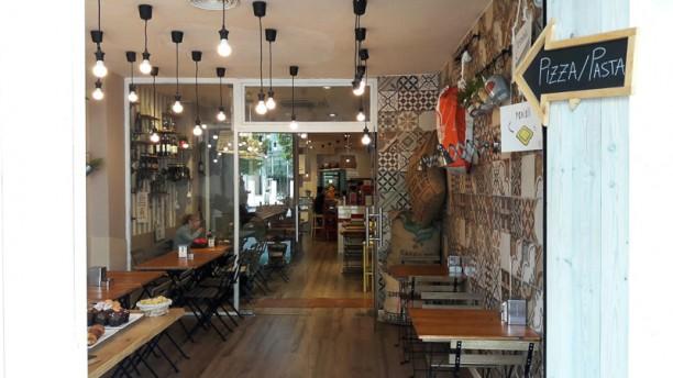Mozzarella & Caffe Vista sala