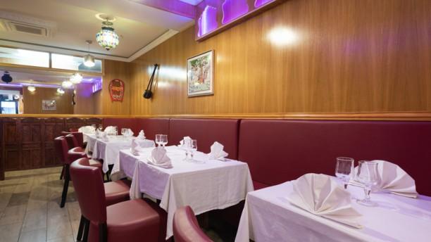 Le Kashmir Salle du restaurant