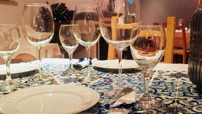 Cantinho do Picadeiro ristorante portoghese a Sintra in Portogallo