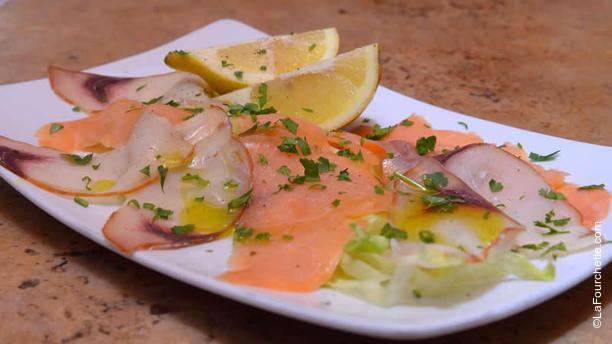 Le Pergamene Antipasto di salmone affumicato