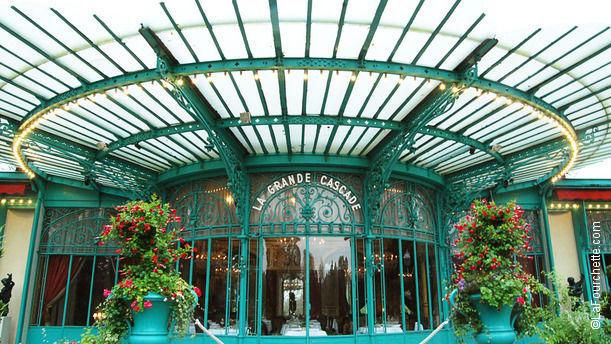 La Grande Cascade - Frédéric Robert Bienvenue au restaurant La Grande Cascade