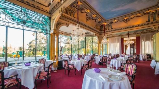 La grande cascade fr d ric robert in paris restaurant for Restaurant la cascade