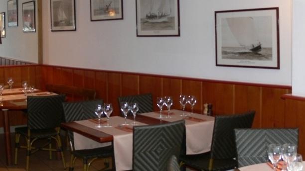 La Cale de Mordreuc Salle du restaurant