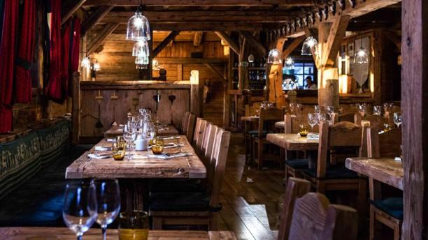 La Taverne du Mont d'Arbois Intérieur