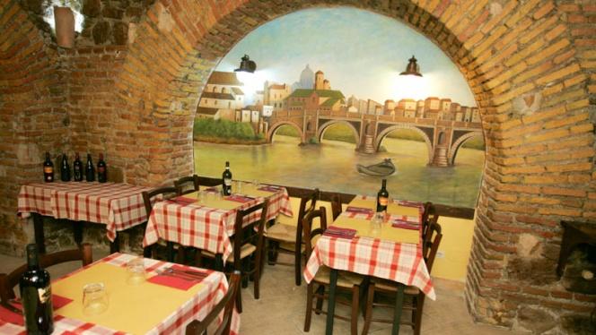Vista sala - Da Checco Ar 65, Rome