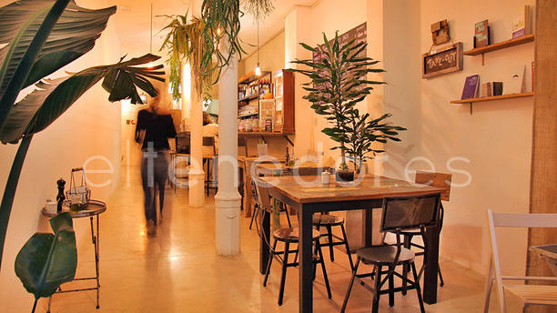 El Café BlueProject vista interior