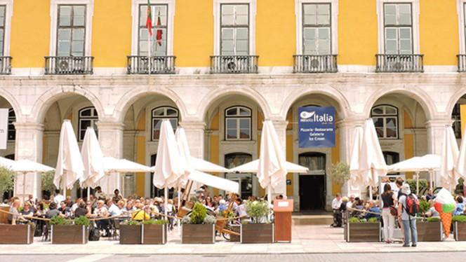 Esplanada - Nosolo Italia - Praça do Comércio, Lisboa