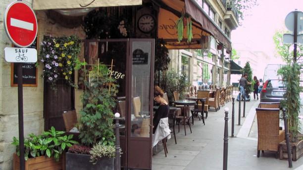 L'Auberge Café terrasse de l'auberge