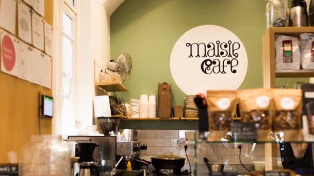Maisie Cafe Vue de l'intérieur