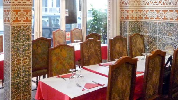 Restaurant JSK Vue de la salle