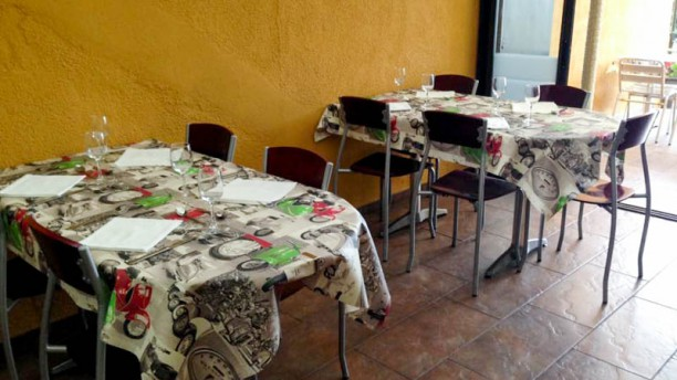 Restaurant Dorca Vista de la sala