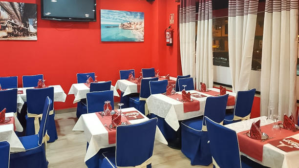 Shiva Restaurant & Bar Sala del restaurante