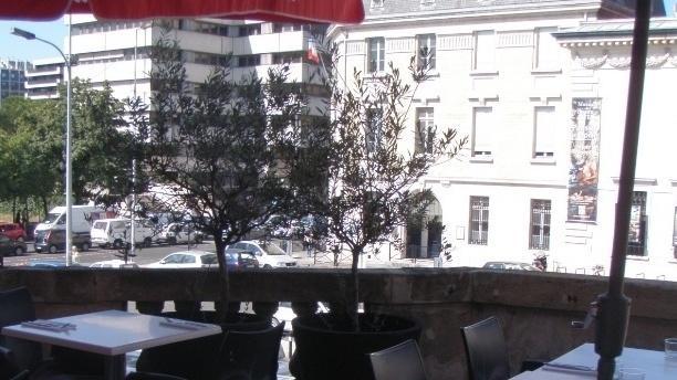 L'Épicure Vue de la terrasse