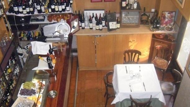 El Marqués Vista superior del restaurante