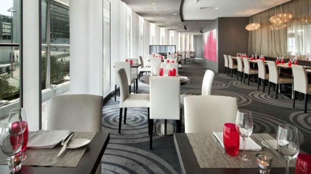 Côté Parvis - Hôtel Hilton Paris La Défense cote parvis 2