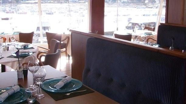 Restaurant des Rochers Vue de la salle