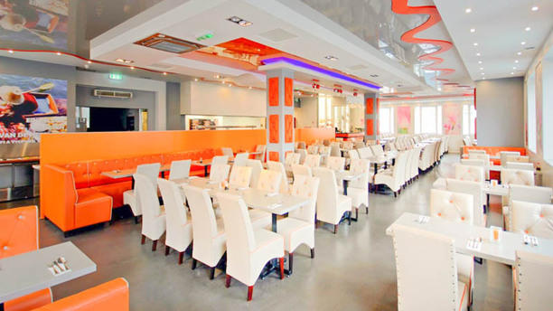 Wok Planet Inrichting Restaurant