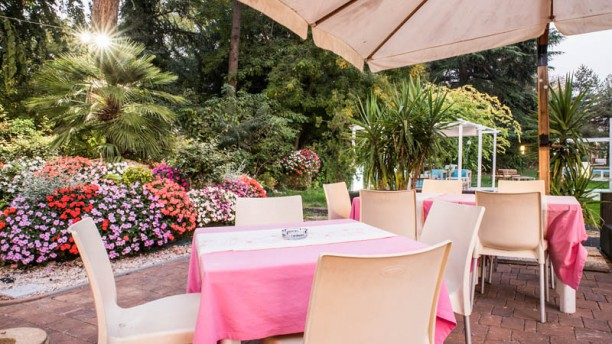 Villa Meraville Terrazza e giardino