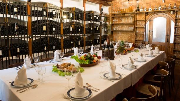 Asador El Molino Sala del restaurante