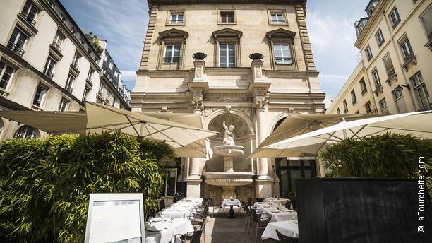 Carte Du Restaurant La Fontaine Gaillon
