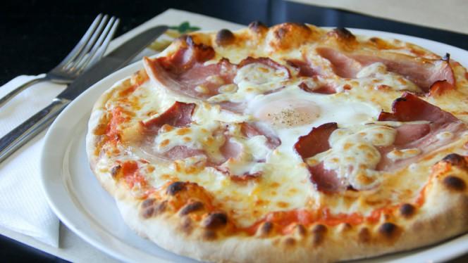 Pizza Carbonara - Da Mattia Pizzeria Italiana, Porto