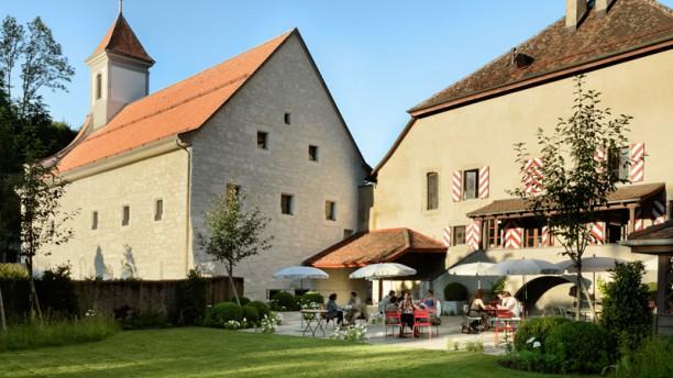 Auberge de l'Abbaye de Montheron Jardin