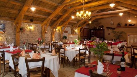 restaurant - Hôtel de la poste - Arzenc-de-Randon
