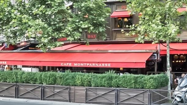Café Montparnasse terrasse