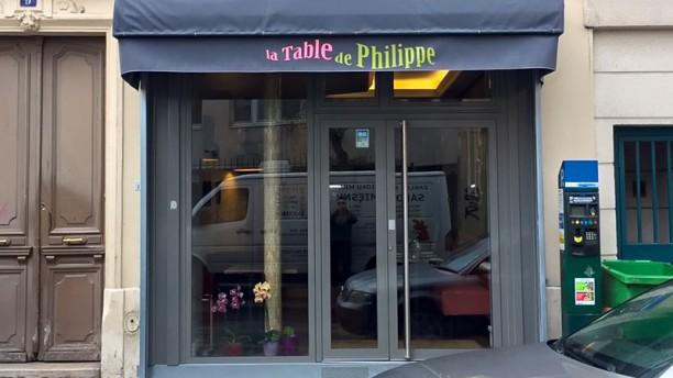 La table de philippe in paris restaurant reviews menu for La cuisine de philippe menu