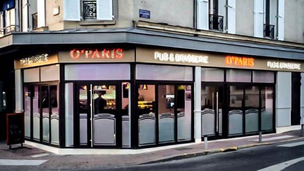 O 39 paris restaurant 18 rue du d part 95880 enghien les for Les bains paris adresse