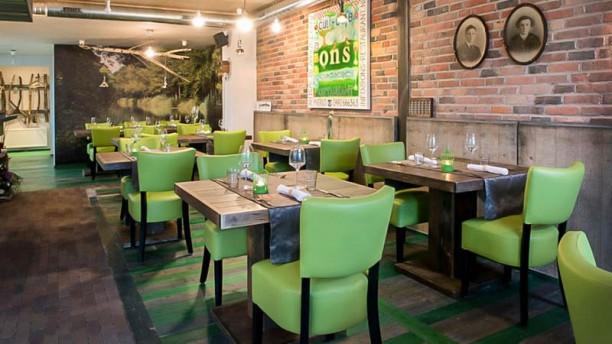 Ons Restaurant Restaurantzaal