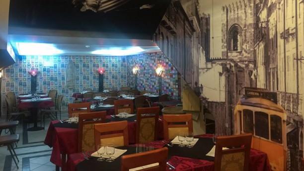 Casa de Fados Ti Jorge sala do restaurante