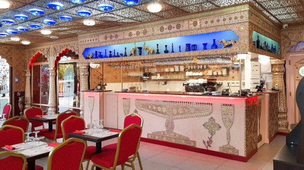 Baba Ji Salle du restaurant