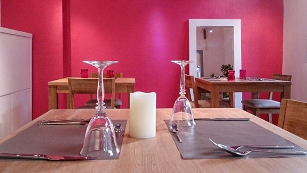 Pizzeria Di Sora Vue table et salle