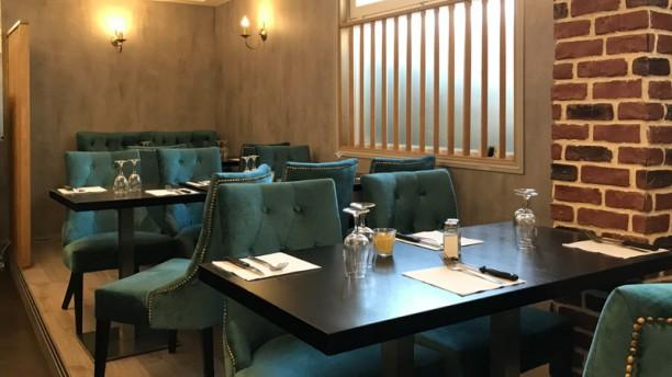 Le Bear's Cafe Vue de la salle