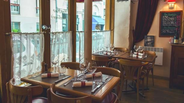 Le Petit Pontoise salle du restaurant