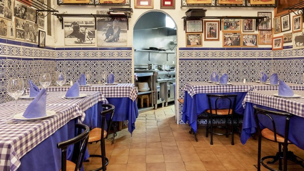 Casa Ricardo Madrid Comedor con solera  y tradición.