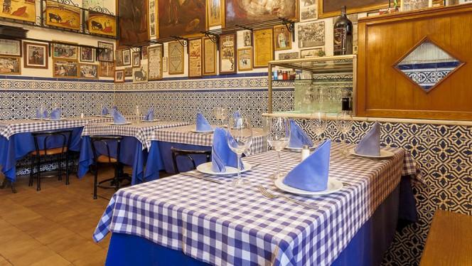 Comedor ambiente taurino y cosmopolita - Casa Ricardo - Fernando el Católico, Madrid