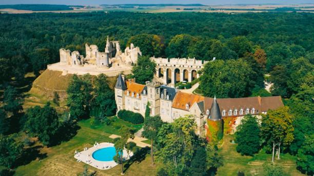 Château de Fère Vue Aérienne du Château de Fère