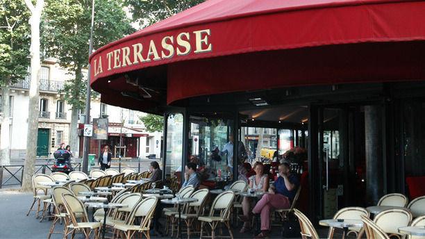 Restaurant la terrasse du 7eme paris sur lafourchette - Table de terrasse restaurant ...