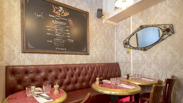 aux d s cal s in paris restaurant reviews menu and prices thefork. Black Bedroom Furniture Sets. Home Design Ideas