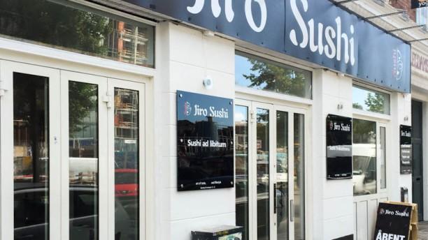 Jiro Sushi entrance