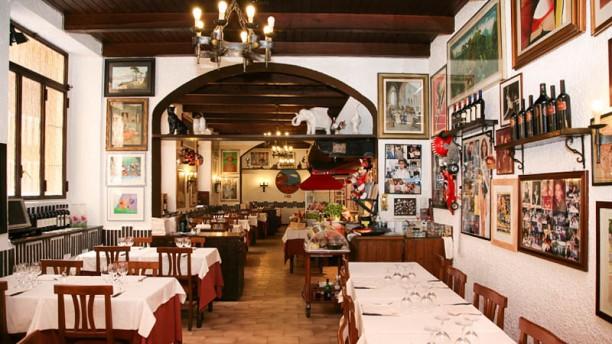 Osteria La Carbonella sala