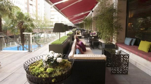 Uptown Lounge Bar & Restaurant - Hotel Meliá Castilla Vista terraza