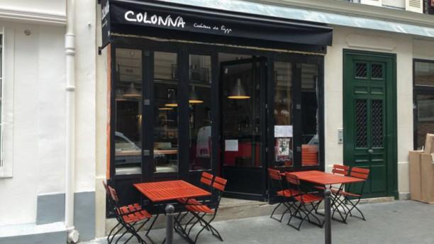 restaurant colonna paris 75017 saint lazare batignolles place de clichy menu avis. Black Bedroom Furniture Sets. Home Design Ideas