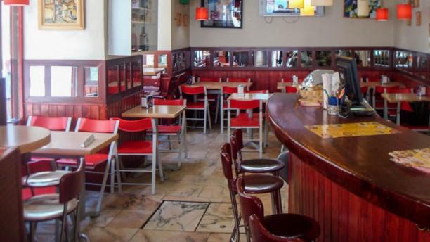 Pizzeria Della Cabeza Vista de la sala