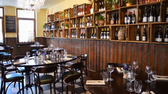 Salle du restaurant - Le Bistroquet, Illkirch-Graffenstaden
