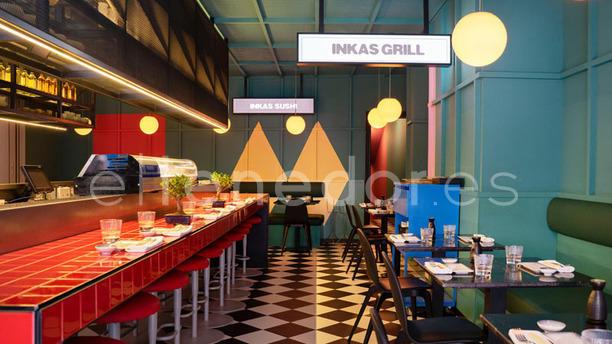 Páru Inkas Sushi & Grill Vista de sala
