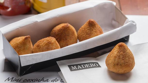 Madero Ribeirão Preto rw Mini Coxinha do Chef Junior Durski